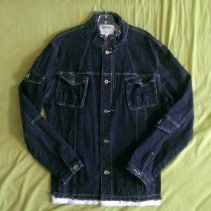 HBoy Stretch Denim Jacket Sz M